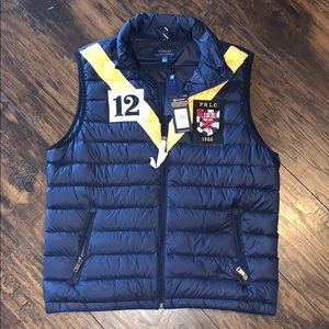 Polo Ralph Lauren navy Packable Down Vest size L